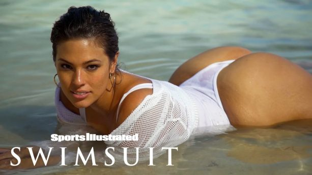 Ashley Graham Gets Down & Dirty In Fiji   Intimates