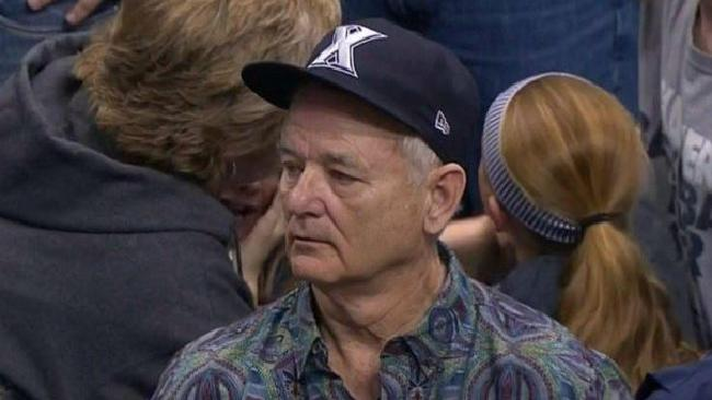 Sad Bill Murray Returned During Xavier's Loss To Gonzaga