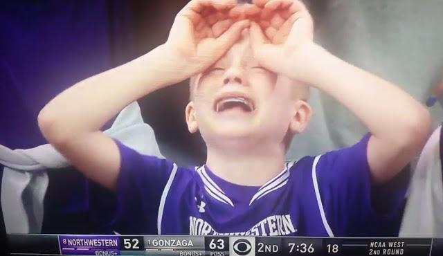 Crying Northwestern Kid Goes Viral