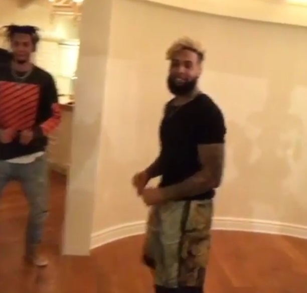 Odell Beckham Jr. Shows off Some New Dance Moves