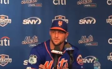 A Tim Tebow Stalker Was Arrested At The Mets Facility