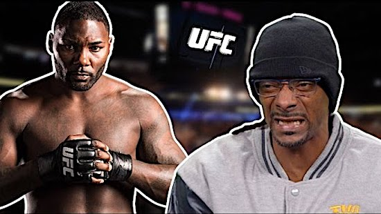 "Snoop Dogg on UFC Fighter Anthony ""Rumble"" Johnson's Knockout's"