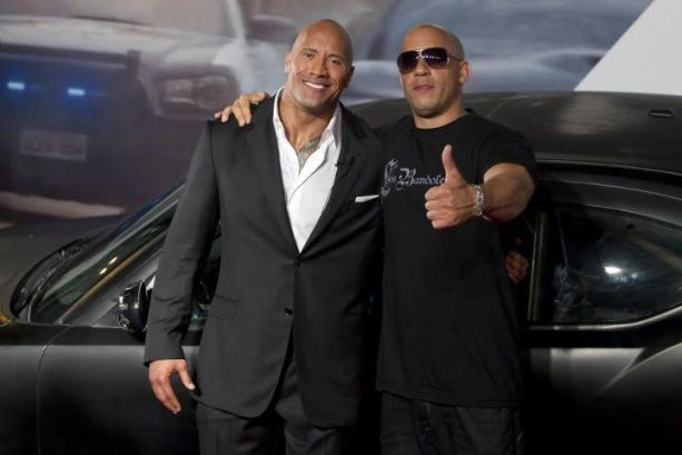 The Rock and Vin Diesel Engaged in #FakeFeud