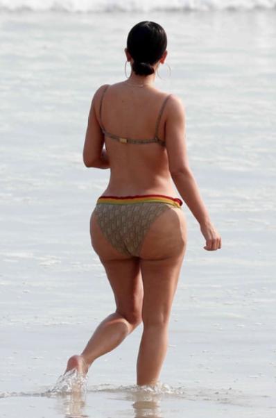 Kim Kardashian Refused To Stand Next To Thottie Pippen In Mexico Photoshoot