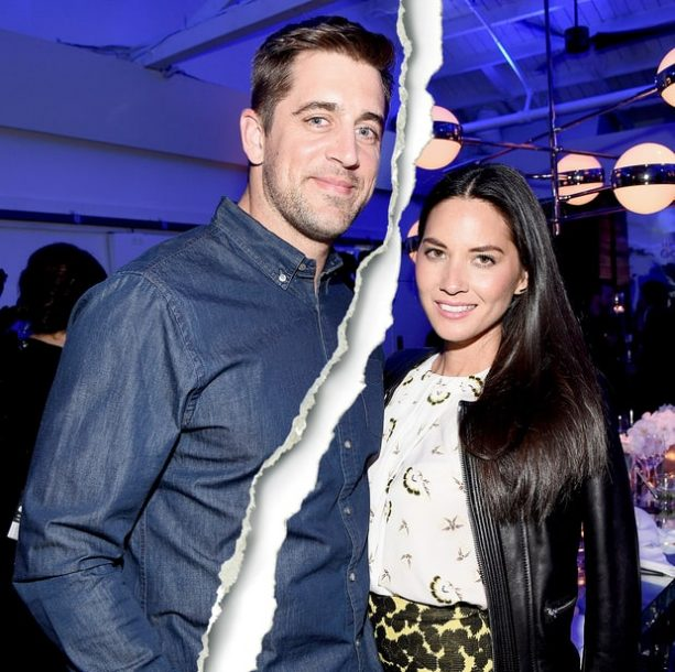 Aaron Rodgers and Olivia Munn Splitsville