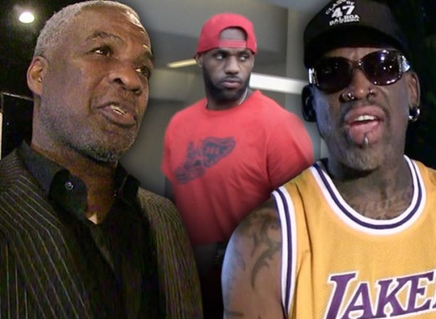 Charles Oakley and Rodman Fighting Over LeBron's Toughness, or Lack Thereof