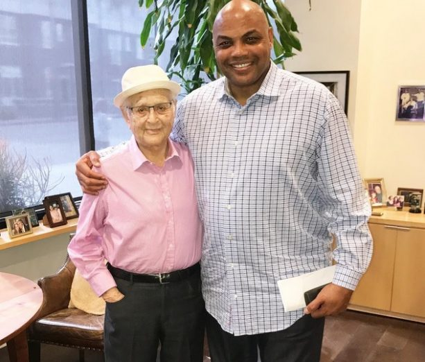 Charles Barkley Hangs with TV Legend