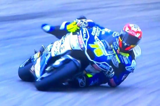 Watch A Crazy Moto GP Save
