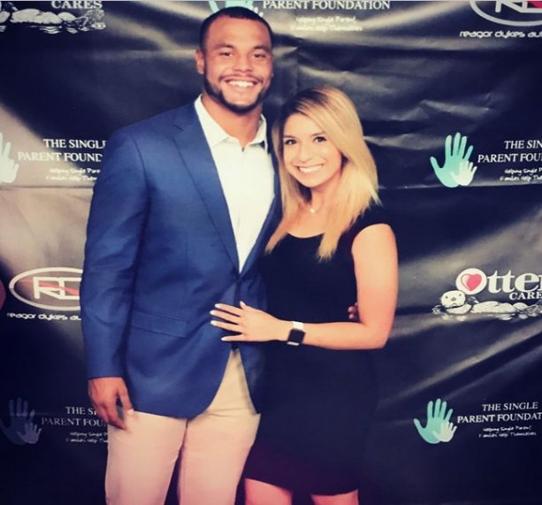 Dak Holding Auditions During an Evening with Dak Prescott