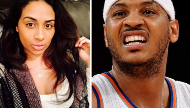 The Details on how Carmelo Met His Side Piece He Knocked Up