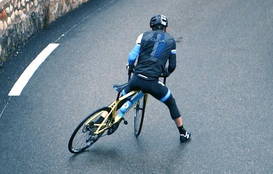 Road Cycling Wheeling and Drifting