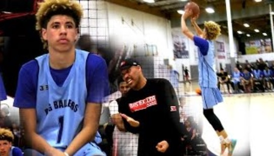 LaVar Ball Benches his Son for Being too White?