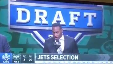 """Former Jets Fullback Spells Jets """"J-E-T-E"""" At The NFL Draft"""