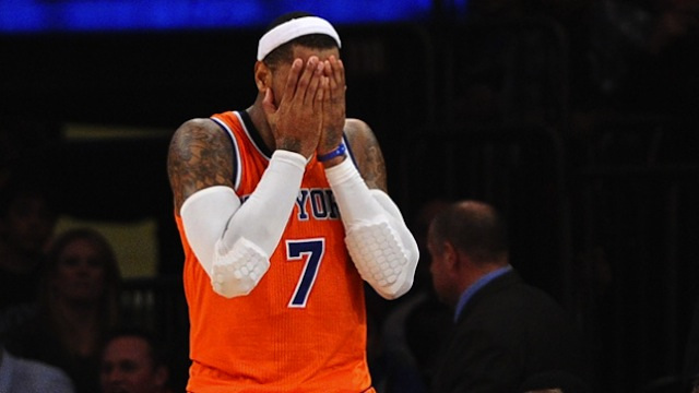 Damn, We Got All The Details On Carmelo's Pregnant Side Chick