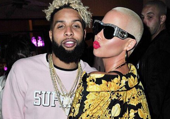 Odell Beckham Jr. And Amber Rose Spotted Together At Coachella