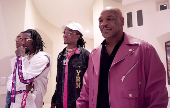 Mike Tyson Takes Migos On Tour Of His Mansion