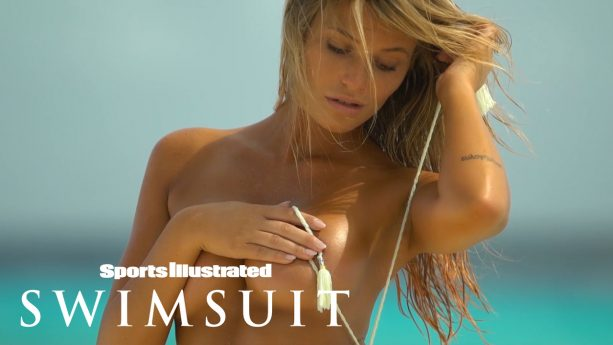 Samantha Hoopes Strips Down For You & Gets Wet In Curaçao
