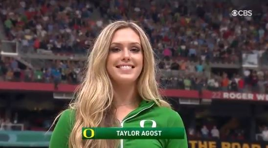 Oregon Volleyball Player Went Viral After Singing The National Anthem At The Final Four