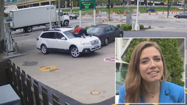 Woman Says Adrenaline Helped Her Foil Carjacking