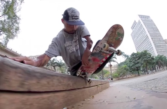 Ruan Felipe Doesn't Let No Legs Stop Him From Ripping The Streets Of Brazil