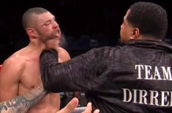 Boxer Gets KO'd After Bell By Opponents Uncle