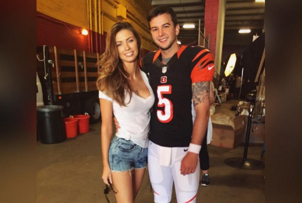Backup NFL Wife Goes to the Gram to Flash Some Skin