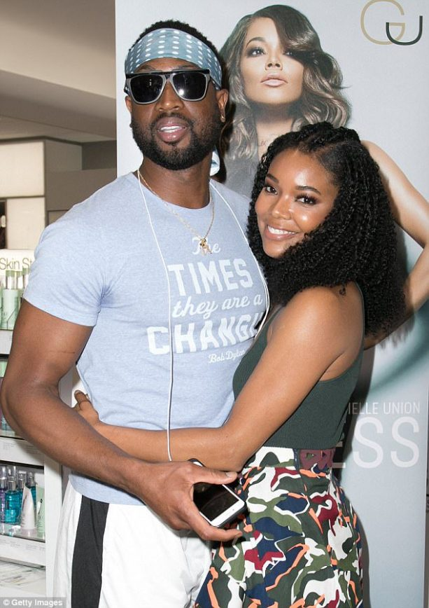 Dwayne Wade and Gabrielle Union tease Miami fans
