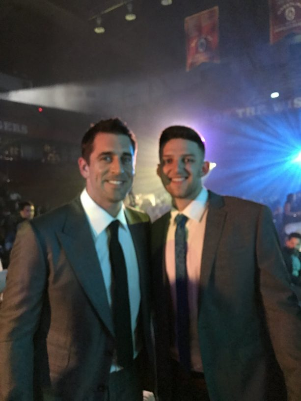 Aaron Rodgers has a New 'Assistant'?