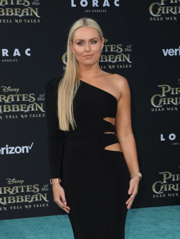 Lindsey Vonn Brings the Boyfriend to Pirates of the Caribbean Premiere
