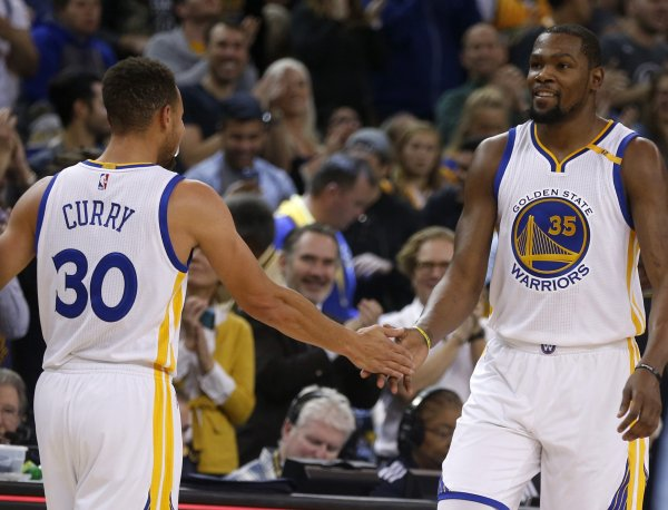 Steph Curry and Kevin Durant More than Friends