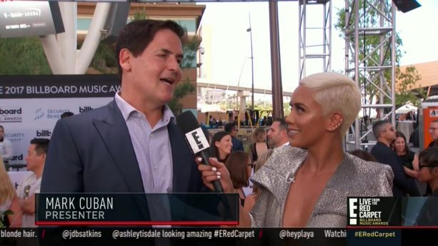 Mark Cuban at the Billboard Awards at T Mobile Arena in Las Vegas