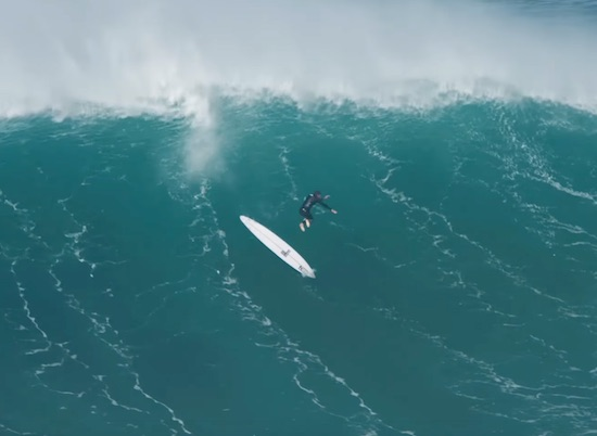 Wipeout Reel: Big Wave Carnage at Nazaré Red Bull