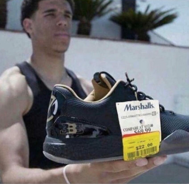 Big Baller Brand Already At Marshalls?