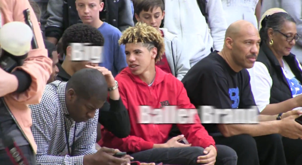 LiAngelo Ball Last Game Big Baller Brand & Lonzo, LaMelo & LaVar Ball