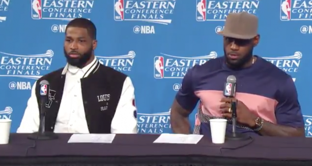 LeBron Salty At Reporter Because He Only Asks Questions When They Lose