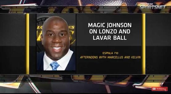 Magic Johnson on Lonzo and Lavar Ball
