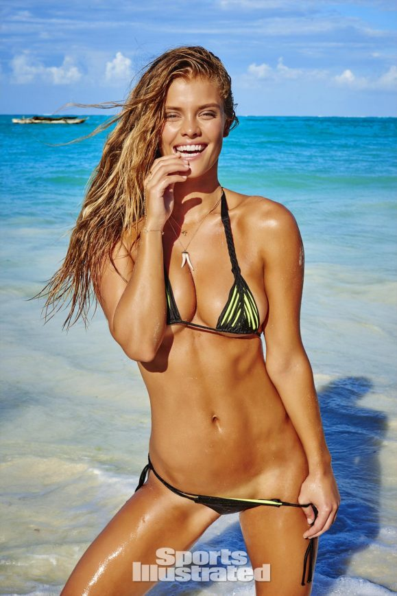 Nina Agdal Shows Off One Of The Tiniest Bikinis She's Ever Worn
