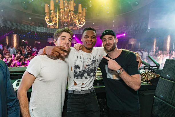 Russell Westbrook and NBA'ers Party Down at Wynn Nightlife Clubs