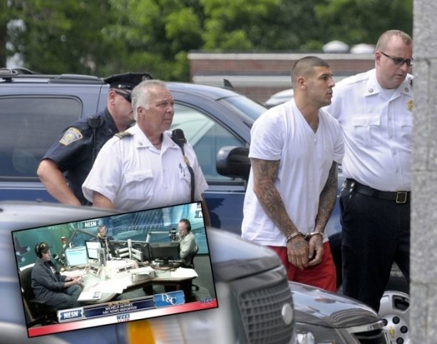Aaron Hernandez Driven To Suicide By Boston Radio Shock Jocks?