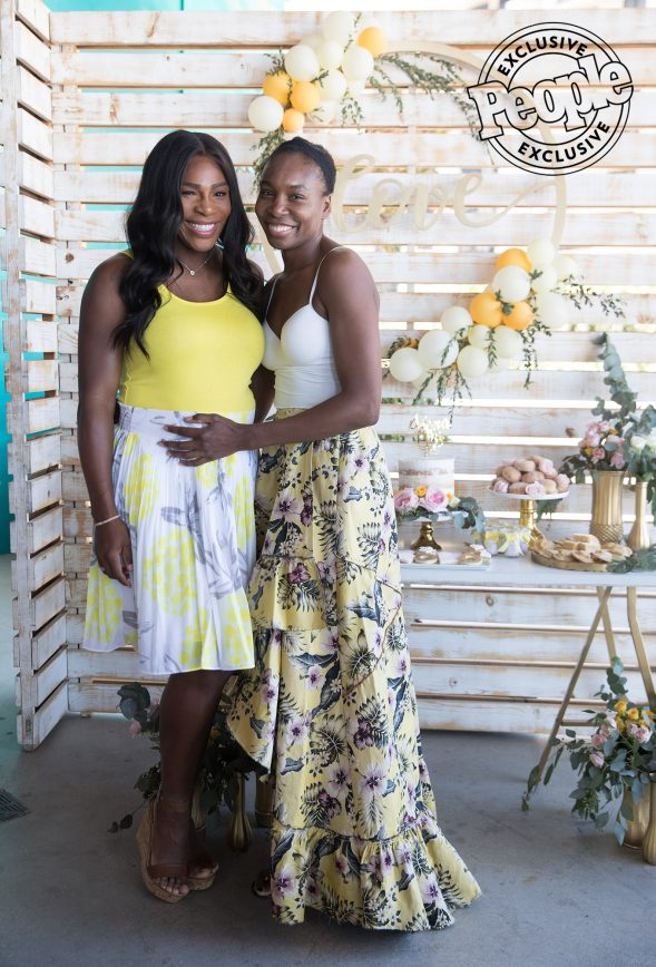 Pictures That Serena Williams Sold To People Magazine Of Her Bridal Shower