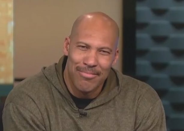 LaVar Ball Busted for Stealing Logo on His New Shoe?