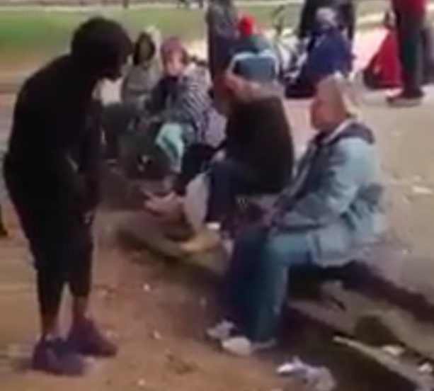 Dude Blasts Defenseless Woman In Face After She Said He Wouldn't Slap Her