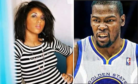 Mama Durant Hanging with Her Son's Playoff Girl
