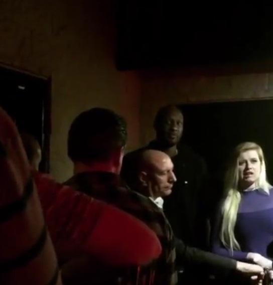 Lamar Odom Gets Denied at Strip Club with Khloe Lookalike