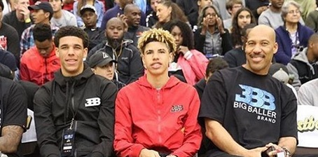 Even Lavar Ball's Kids Wear Jordans