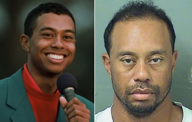 A Look Back at Golfer Tiger Woods' Fall From Grace