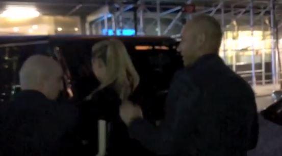 Derek and Hannah Jeter Spotted Leaving A Restaurant In New York