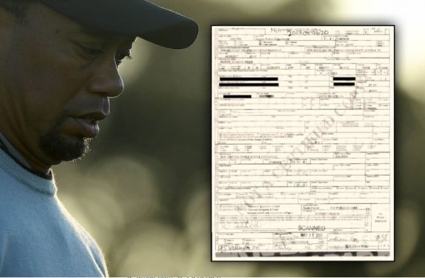 Tiger Woods DUI Arrest Report — 'Did Not Know Where He Was'