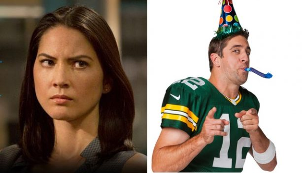 Olivia Munn 'Furious' After Learning of Aaron Rodgers Out With Sexy Kelly Rohrbach