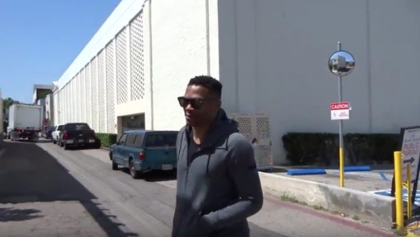 Meanwhile Russell Westbrook Be Shopping in Beverly Hills